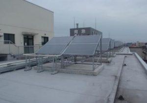 太陽熱利用給油システムツインパワー給油器